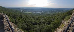 Panoramic view from Lookout Mountain, Georgia.