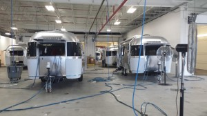 Airstream travel trailers